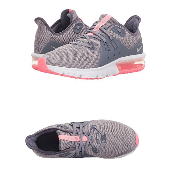 7415b990d72 Nike Girls Air Max Sequent 3 Sneakers
